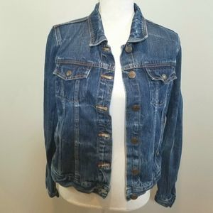 J Crew indigo denim jeans jacket
